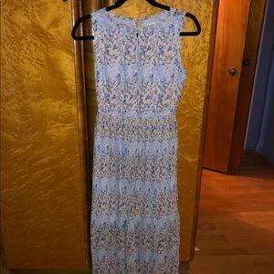 Gorgeous light blue dress with cute designs
